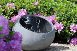 Handgemaakte waterval in je tuin?